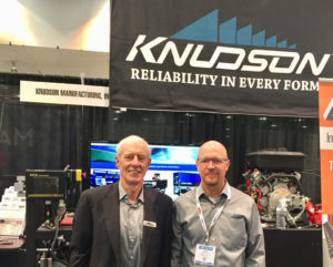 Gary Knudson and Clete Zakrzewski Welcome New and Old Customers to Metalcon 2017.